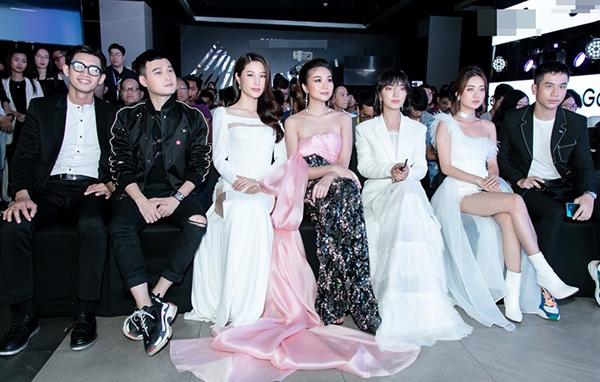 Tại sự kiện, Thanh Hằng hội ngộ cùn Diễm My 9x, Châu Bùi.