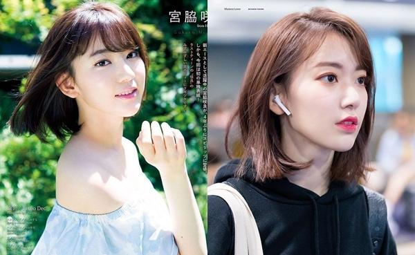 Giảm cân và đổi cách makeup giúp Sakura trông sắc sảo hơn.