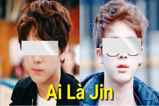 Nhanh mắt phân biệt thành viên BTS - 3