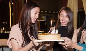 Sinh nhật đầu tiên của Lương Thùy Linh sau đăng quang hoa hậu