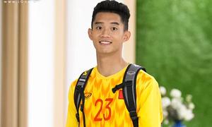 Thủ môn U22 Việt Nam gây chú ý với chiều cao 1,93m