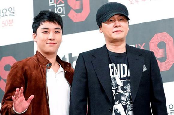 Seung Ri và Yang Hyun Suk liên quan đến loạt scandal mại dâm, đánh bạc.