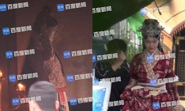 Đường Yên liên tục đỡ bụng khi quay cảnh cưỡi ngựa, netizen đặt nghi vấn mang thai - 2