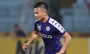 Quang Hải lập cú đúp giúp Hà Nội FC thắng lượt đi bán kết liên khu vực AFC