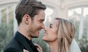 Vlogger nổi tiếng PewDiePie kết hôn sau 8 năm hẹn hò