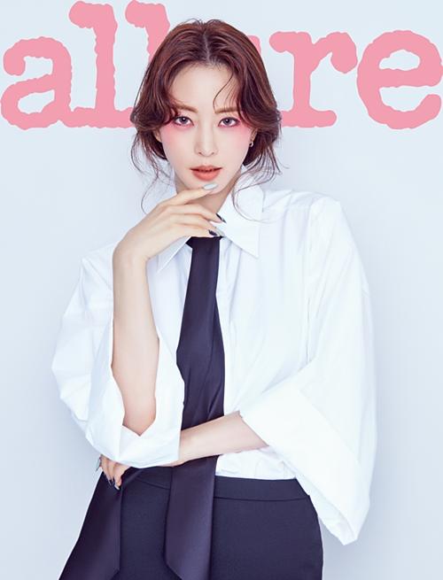 Han Ye Seul xinh đẹp trên trang bìa Allure.