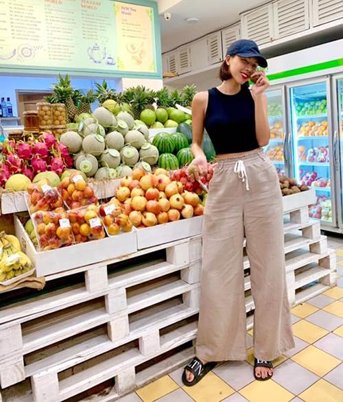 Minh Triệu giữ cân bằng cách ăn hoa quả thay cơm.