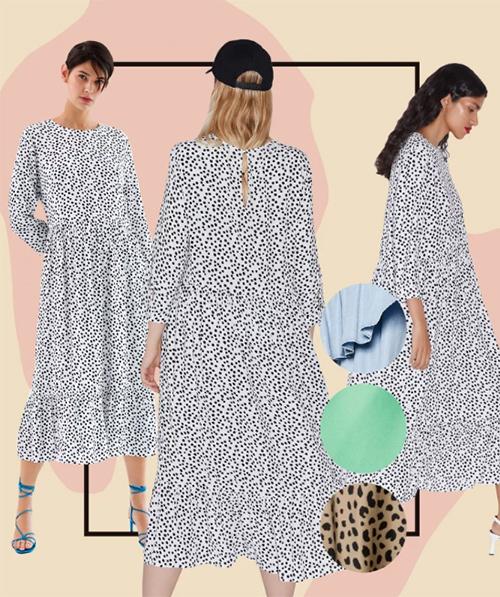 Chiếc váy trông không quá đặc biệt nhưng lại gây sốt toàn cầu của Zara.