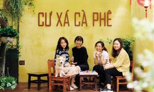 3 quán cà phê có bức tường vàng check-in độc đáo ở Hà Nội