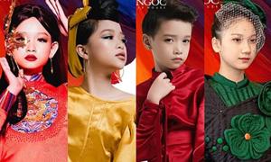 Dàn mẫu nhí Việt sang Bangkok trình diễn thời trang