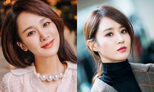 Những người đẹp Trung - Hàn giống nhau như chị em