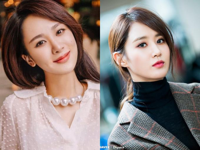 <p> Dương Tử và Yuri (SNSD) có hình dáng khuôn mặt, khuôn miệng tương đồng. Cả hai đều mang lại cảm giác về một cô gái hiền lành, hơi ngây ngô khi trang điểm nhẹ nhàng. Lúc biến hình với makeup đậm, họ trông đài các, quyến rũ.</p>