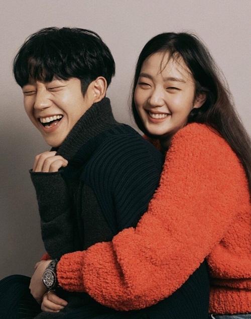 Kim Go Eun và Jung Hae In tình cảm