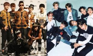 BTS hay EXO: Đâu là 'Boygroup quốc dân' trong lòng bạn?