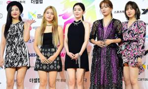 Red Velvet chiếm spotlight trên thảm đỏ Soribada 2019
