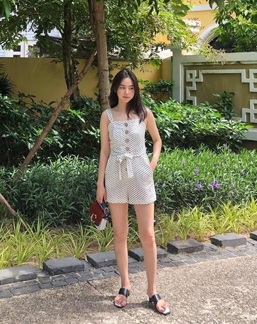 Ahn So Hee đi nghỉ dưỡng ở Phú Quốc.