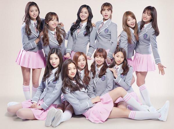 11 cô gái của I.O.Ilúc còn hoạt động