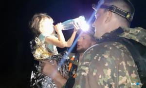 Bé gái Nga 5 tuổi được giải cứu sau 3 đêm lạc trong rừng
