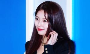 Suzy khoe visual đỉnh cao, thần thái sang chảnh tại sự kiện