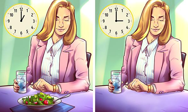 Ăn uống khoa học, đúng giờ sẽ mang đến cho bạn vóc dáng cân đối.