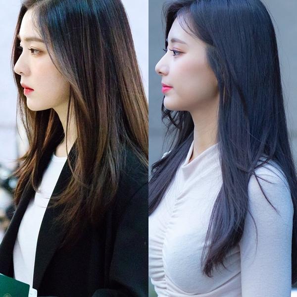 Góc nghiêng thần thành của Irene - Tzuyu.