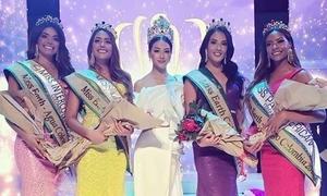 Phương Khánh 'đau đầu' khi chấm thi Miss Earth Colombia 2019