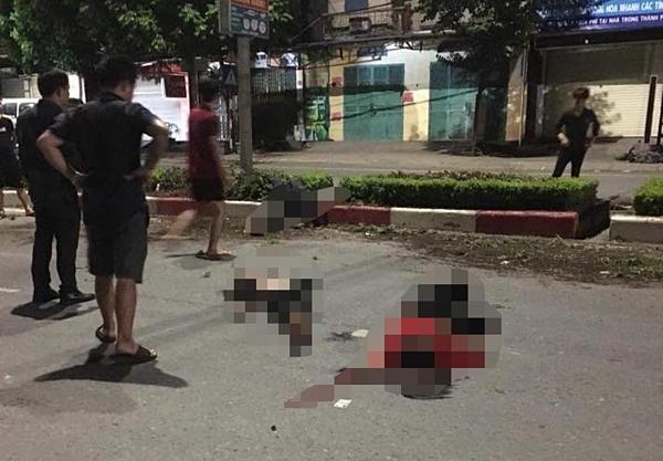 Hiện trường vụ tai nạn khiến 4 người bị thương vong tại Thái Nguyên.