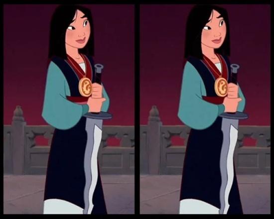 Có điểm gì khác biệt trên bộ váy của công chúa Disney? - 3
