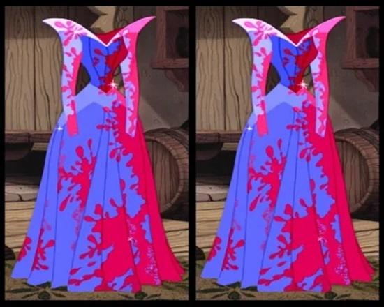 Có điểm gì khác biệt trên bộ váy của công chúa Disney? - 7