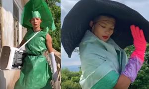 Chàng trai Trung Quốc biến giẻ rách thành đồ sành điệu
