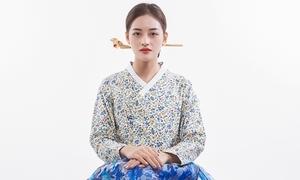 Thùy Anh diện hanbok trong dịp làm Đại sứ du lịch Busan