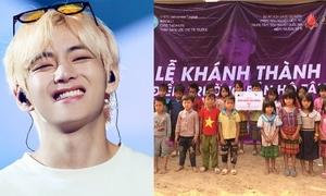 Fan V (BTS) tại Việt Nam xây trường cho trẻ em nghèo ở Điện Biên