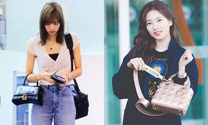 Idol Hàn chứng minh đẳng cấp với túi xách 'độc nhất vô nhị'