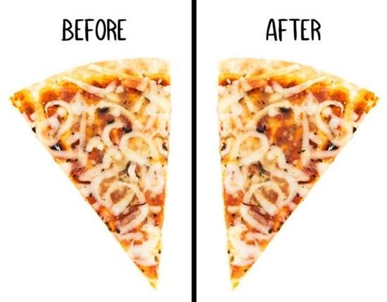 Miếng pizza này đã bị ăn vụng mất topping gì? - 5
