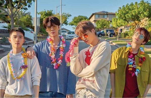 SM nhá hàng bộ ảnh chụp ở Hawaii của các thành viên EXO với nhiều khoảnh   khắc đẹp, thú vị.