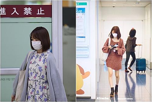 Những cô gái Nhật thường phối trang phục cùng tông màu, màu trơn và kiểu dáng rộng. Tuy nhiên, trang phục này khiến Sakura kém thu hút, nhìn như mới ngủ dậy hơn là một idol đầy năng động.