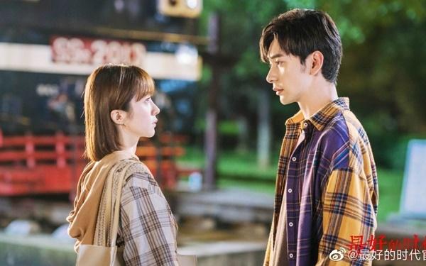 Hồ Băng Khanh và Trần Tinh Húc đóng cặp trong bộ phim Thời đại tuyệt vời nhất.