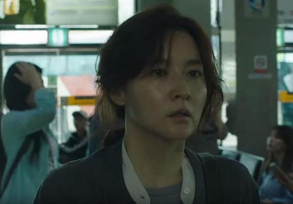 Tạo hình người mẹ của Lee Young Ae trong phim.