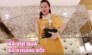 Trấn Thành chê Hari Won 'như bán vé số' khi đeo túi hiệu