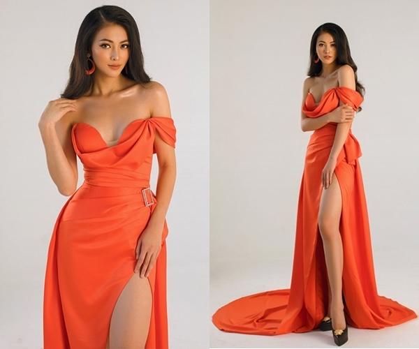 Trang phục Valeria Ayos từng được Phương Khánh diện trước đó.