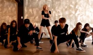 Sun Mi tung video tập vũ đạo 'Lalalay' hút mắt