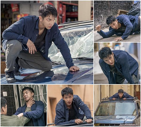 Lee Seung Gi tự mình thực hiện cảnh hành động.