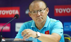 HLV Park: 'Suýt nữa đã thua Thái Lan'