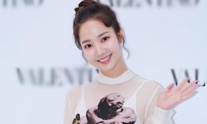 Park Min Young diện váy xuyên thấu đi sự kiện