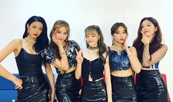 AOA tái xuất với 5 thành viên trên chương trình Queendom.