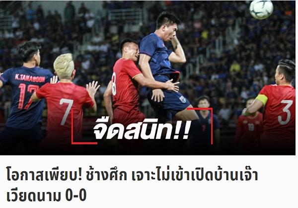 Tờ SMM Sport bình luận về trận đấu Việt Nam - Thái Lan, tối 5/9.