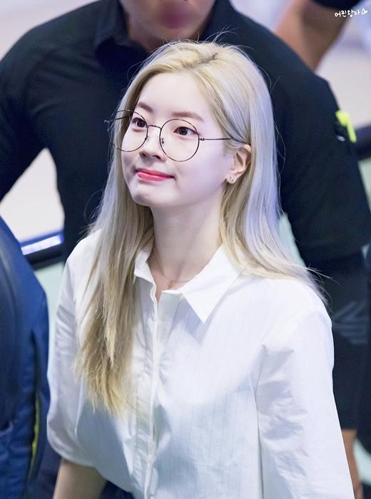 Da Hyun có làn da trắng bóc.