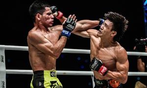 Duy Nhất thắng knock-out võ sĩ Malaysia trên sân nhà