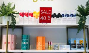 AAU Cosmetic ưu đãi các sản phẩm làm đẹp