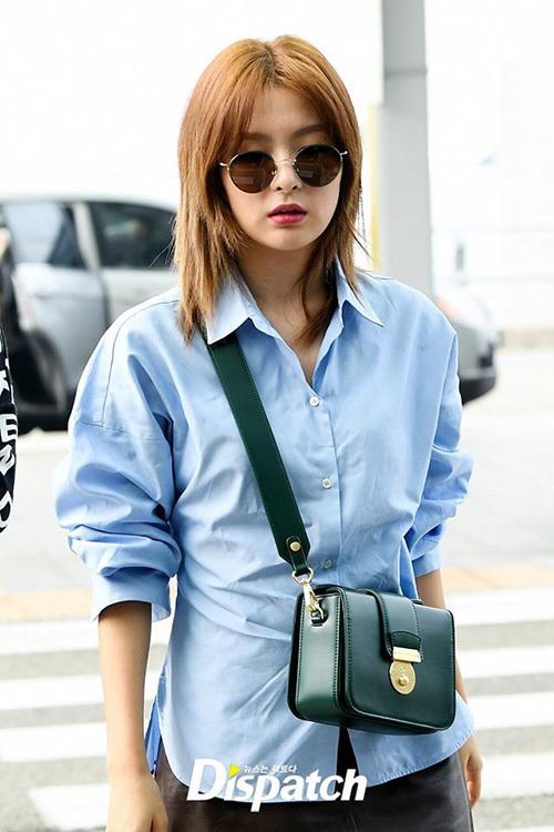 Seul Gi luôn là thành viên chụp ảnh tạp chí, có khí chất thời trang ấn tượng nhất nhóm. Người hâm mộ hi vọng cô nàng sẽ cho ra mắt một bộ ảnh xuất sắc nữa sau chuyến đi.